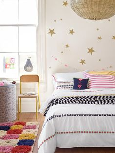 Broderi Ribbon Duvet by Hanna Andersson at Gilt