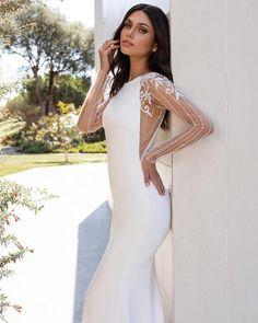 Pronovias 2020 Contemporary Goddess Collection - Arriving in-store soon // Pronovias Wedding Dress, Couture Wedding Gowns, Wedding Dresses Australia, Wedding Dress Shopping, Natalie Portman, Dream Dress, Bridal Style, Dress Collection, Bridal Dresses