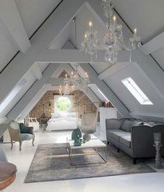 Old Rectoryby @jimmiemartin   #attic  #chandelier #interiordesign #interiordesigner #jimmiemartin