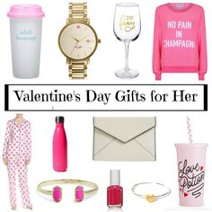 Valentine's Day Gifts for Her - Travel Me Chic Valentines Day Gifts For Her, Valentines For Kids, Tiny Heart, Easy Projects, Red Roses, Fancy, Chic, Crafts, Travel