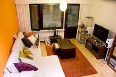 Decoração: Escolhendo Sofá para Sala Pequena - Cores da Casa
