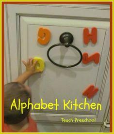 Alphabet Kitchen by Teach Preschool