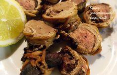 Μενούζα: το ατομικό κοκορετσάκι Greek Recipes, Easter Recipes, Main Dishes, Pork, Keto, Greece, Main Course Dishes, Kale Stir Fry, Greece Country