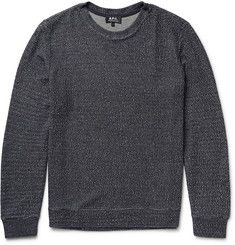 A.P.C. Mélange Knitted Sweater