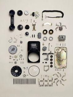 Vintage Phone components