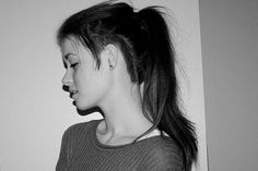 sidecut long hair-this is how i really want to do it