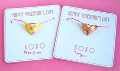 Cute Valentine's for a girl. I know my son got something similar to this in Kindergarden and loved it as well.