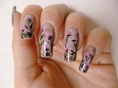 Amandine nail art reproduction Robin Moses