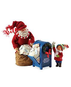 Department 56 Collectible Figurines, Possible Dreams Collection - Holiday Figurines - Holiday Lane - Macy's