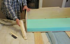 """We made our own co-sleeper using 3"""" high density foam.  Worked great for the first 6 months!"""