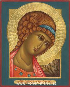 Orthodox Catholic, Catholic Art, Byzantine Icons, Byzantine Art, Religious Icons, Religious Art, Archangel Raphael, Raphael Angel, Face Icon