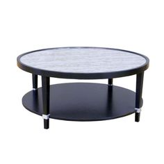 #164200-M Mercer Round Cocktail Table by Fremarc Designs