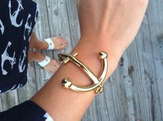 Kate spade anchor bracelet. I have this!