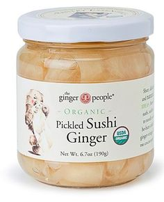 The Ginger People Organic Pickled Sushi Ginger, 6.7 Oz