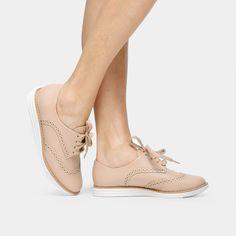 Compre Oxford Vizzano Broguês Nude na Zattini a nova loja de moda online da Netshoes. Encontre Sapatos, Sandálias, Bolsas e Acessórios. Clique e Confira!