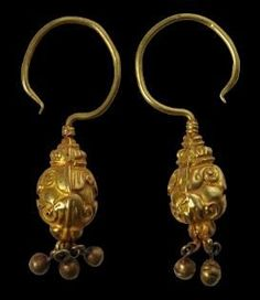 Ancient Chinese earrings.