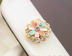 Flower iPhone Home Button Sticker for iPhone 4