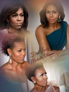 An Accomplished Attorney, Beautiful Mom, Loving Wife and Fantastic First Lady....Michelle Obama!!