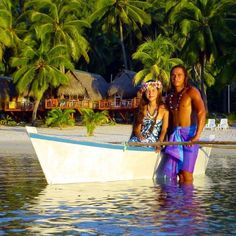 Cook Islands couple.
