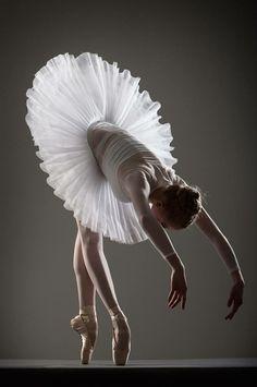 Danseuse de ballet en tutu.