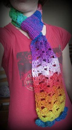 LOVE the colors!!! Colors, Crochet, Fashion, Moda, Fashion Styles, Knit Crochet, Crocheting, Fashion Illustrations, Fashion Models
