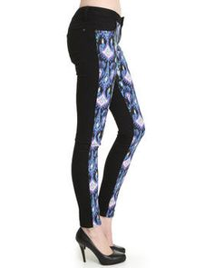 Buy southwest print skinny Women's Bottoms from Basic Essentials. Find Basic Essentials fashions & more at DrJays.com