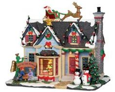 Lemax Best Decorated House, With 4