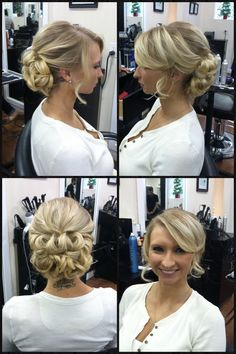 Formal up-do by Meghan Bryan- Salon Beyond Basics- Wilmington, NC Military ball  Formal hair Up style