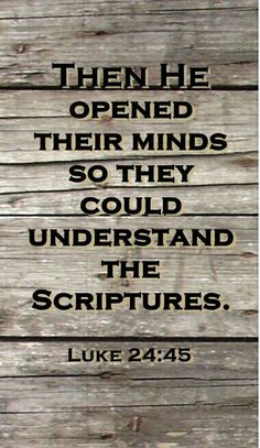 A real relationship with God and Jesus will open your heart and give you true understanding