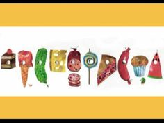 Another video by Carle on The Very Hungry Caterpillar.  Some of the same as the other.