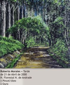 Tarde 21 abril 2000 Horto - Roberto Morales - 2000. Imagem do acervo do APHRC
