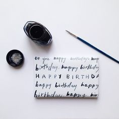 Brush Lettering Inspiration: Belinda Love Lee//