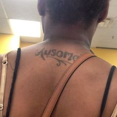 SOOOOO Awsome. | 29 Heartbreakingly Misspelled Tattoos