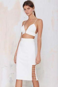 Cameo Airplane Cutout Skirt - Skirts   Cameo   Newly Added      Skirts
