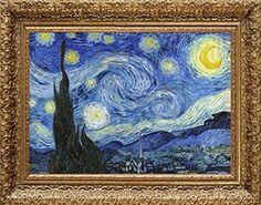 Starry Night, Vincent van Gogh, Wall Art $8.99