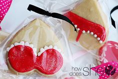 Easy Royal icing cookies. Rated G, PG, & PG-13. ;) http://www.howdoesshe.com/valentines-sugar-cookies-rated-g-pg-pg-13