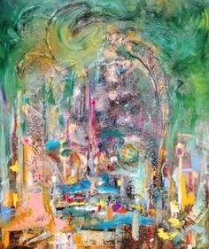 "Saatchi Art Artist Pearse Gilmore; Painting, ""Magic Jardin."" #art"