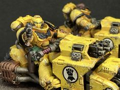 Robot Hand, Imperial Fist, Warhammer 30k, Cat Dad, Space Marine, Thunder, Marines, Warriors, Popular