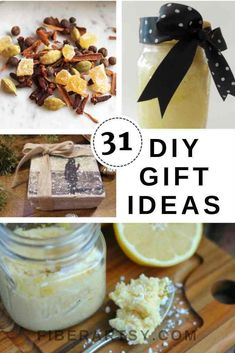 31 Handmade Gifts -