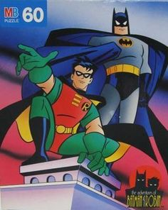 Batman / Batman and Robin (1995) / Milton Bradley (Puzzle), $20.00