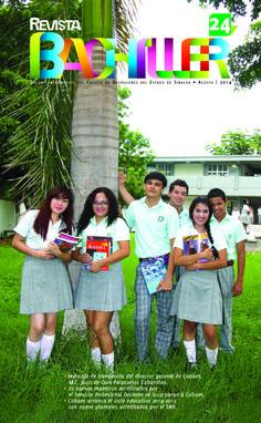 Revista Bachiller No. 24 #COBAES #Sinaloa #Revista #Educación