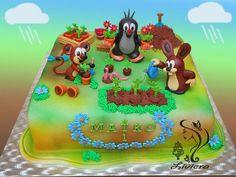 mole - birthday cake - cake by Liviera Great Hobbies, Fun Cooking, Happy Birthday, Birthday Cakes, Cake Decorating, Wedding Cakes, Birthdays, Cookies, Baby Cakes