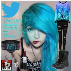 """""""twitter"""" by morganamerica on Polyvore"""