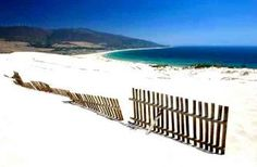 Tarifa, Spain. This is the beach we spent all day on
