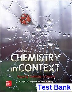 Test bank for chemistry the central science 13th edition by brown chemistry in context applying chemistry to society 8th edition american chemical society test bank test fandeluxe Images