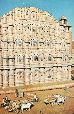 Palace of the Winds . Jaipur