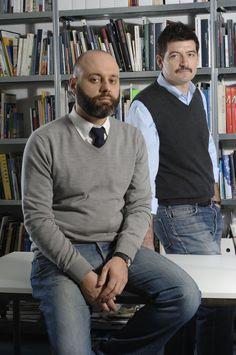 Paolo Brambilla e Fabio Calvi.  Foto di Simona Pesarini