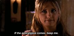 When she winked in the face of the apocalypse. | 23 Of Buffy Summers' Most Iconic Lines
