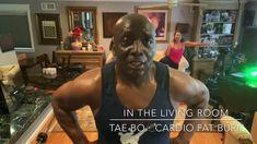 Tae Bo Cardio Fat Burn (Burn Between Calories on Average) Living Room Workout, Tae Bo, Fat Burning Cardio, 1000 Calories, Personal Goals, Cardio Workouts, Workout Tips, Kickboxing, Moving Forward