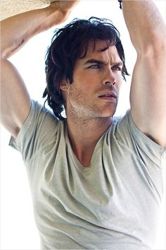 Ian Somerhalder - Ian Joseph Somerhalder is an American actor and model, best known for playing Boone Carlyle in the TV drama Lost and Damon Salvatore in the TV drama The Vampire Diaries. He also founded the Ian Somerhalder Foundation to help educate Damon Salvatore, Nikki Reed, Gorgeous Men, Beautiful People, Pretty People, Beautiful Beautiful, Christian Grey, Damon Y Elena, Ian Somerhalder Vampire Diaries